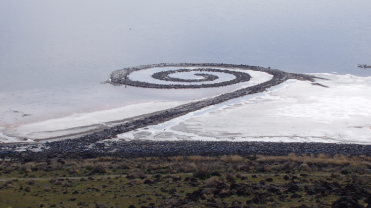 Twenty unforgettable pieces of land art. Robert Smithson
