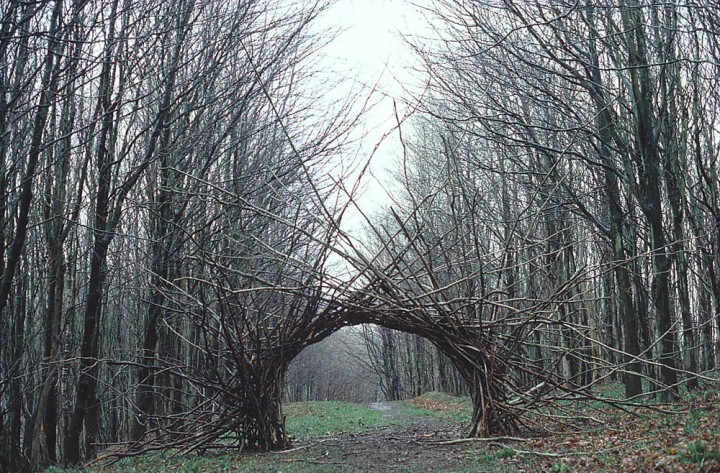 Twenty unforgettable pieces of land art. Andrew Goldsworthy