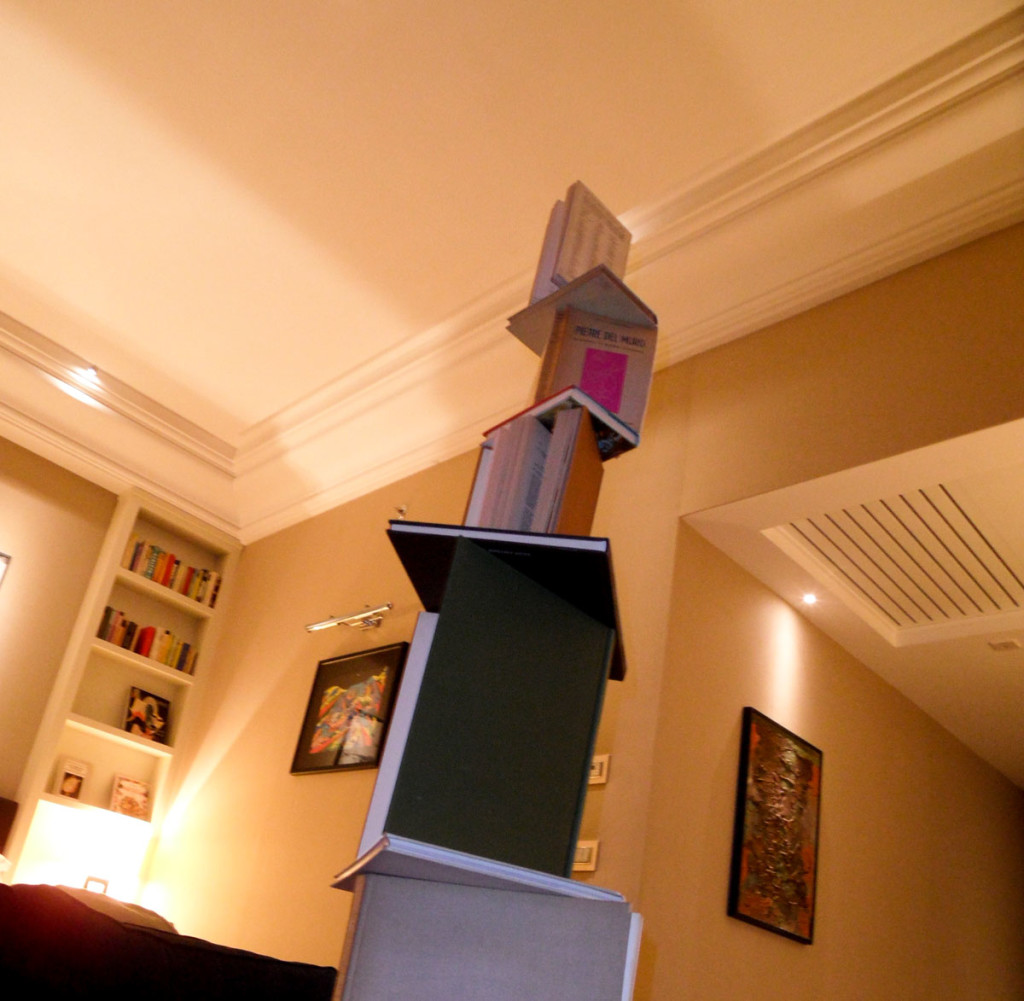 spontaneous sculpture #6 | A temporary work by Andre Werner. Suite 305, THE FIRST Luxury Art Hotel Roma, Aug. 26th, 2012, 5am.
