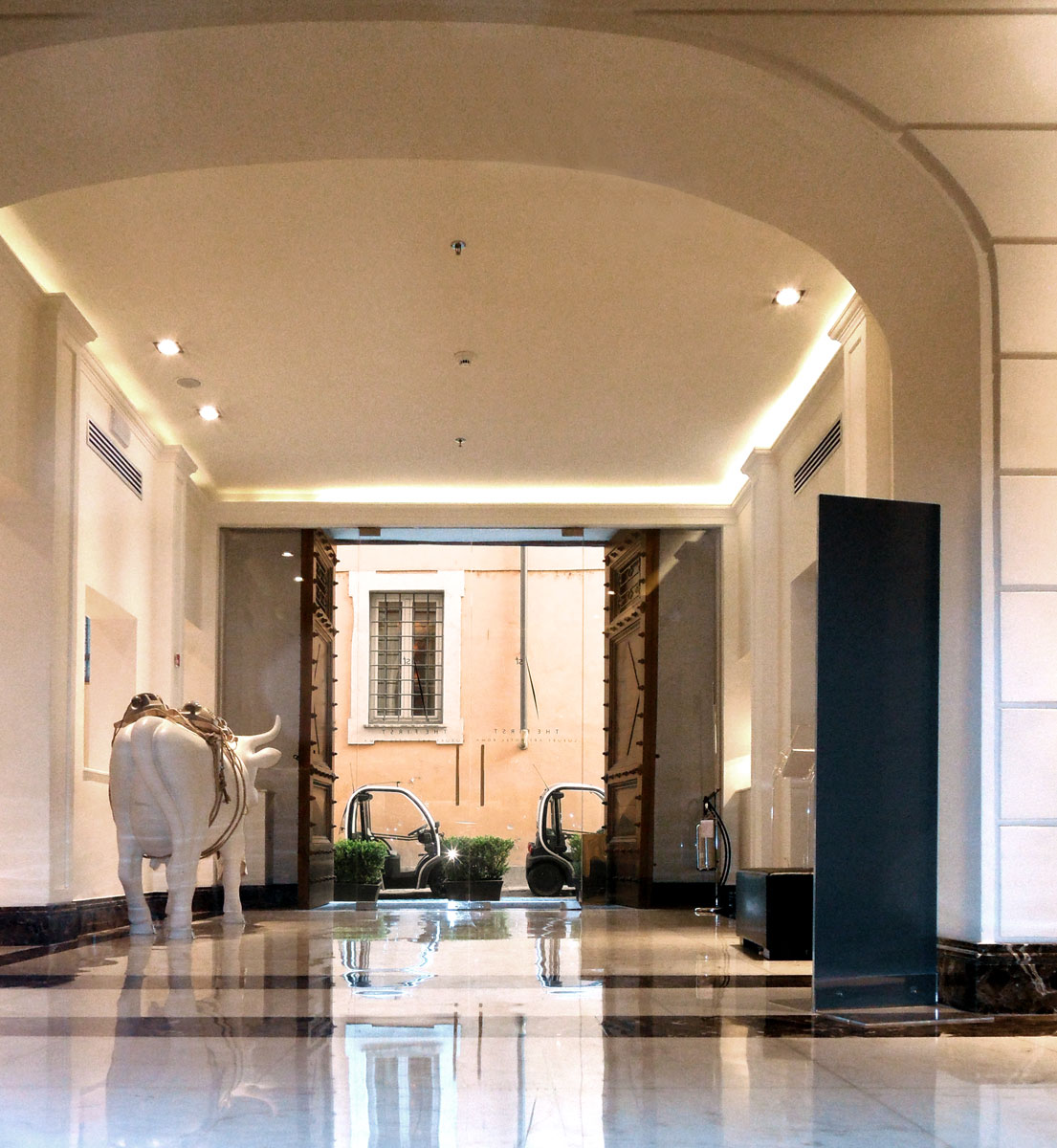 The first roma the art resort for Hotel luxury roma