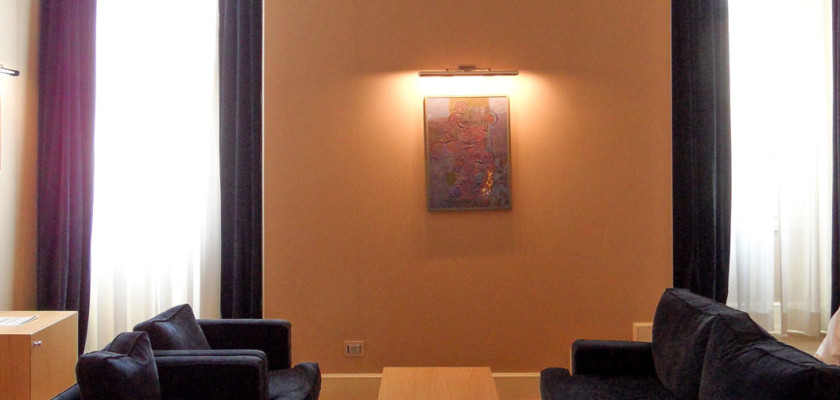 A place to relax. Suite at THE FIRST Luxury Art Hotel Roma.