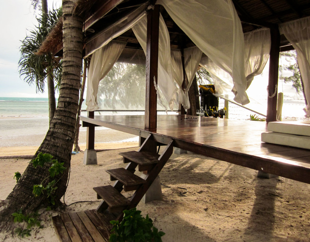 A space to chill at Laem Yai Beach. The Moevenpick Resort, Samui. photo: the art resort