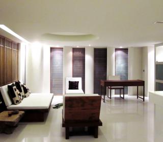 The Duplex Suite. The spaceship of the Muang Kulaypan beach resort.