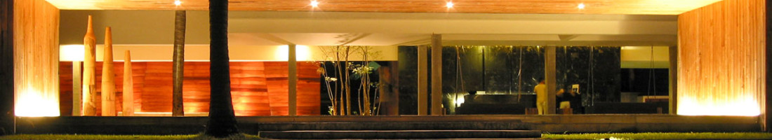 X2 | crossing into imagination. The entrance into the X2 Samui beach resort. photo: the art resort.