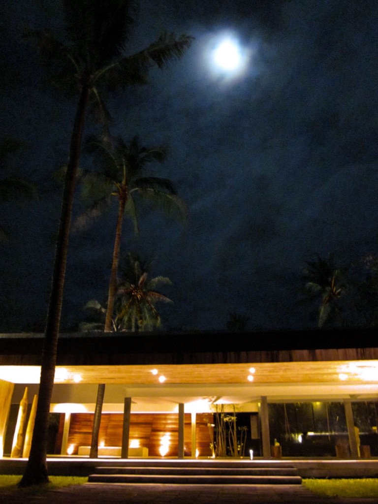 The entrance into the X2 Samui beach resort. photo: the art resort.