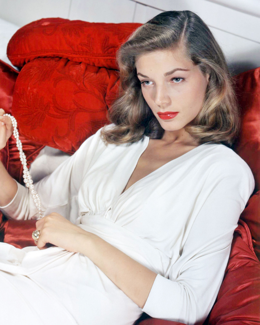Lauren Bacall. Photo: Getty Images/Moviepix.