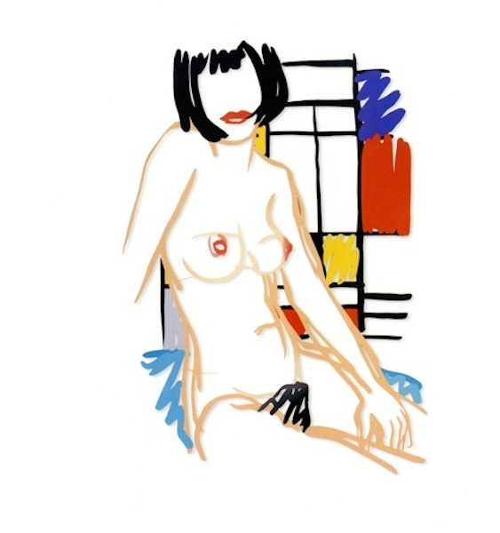 Tom Wesselmann, Monica sitting with Mondrian (Variation #2) (1988)Photo: courtesy Galerie Gmurzynska