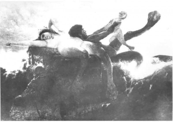 Arnold Böcklin Tritonenfamilie (1880-81) Photo: The Art Newspaper