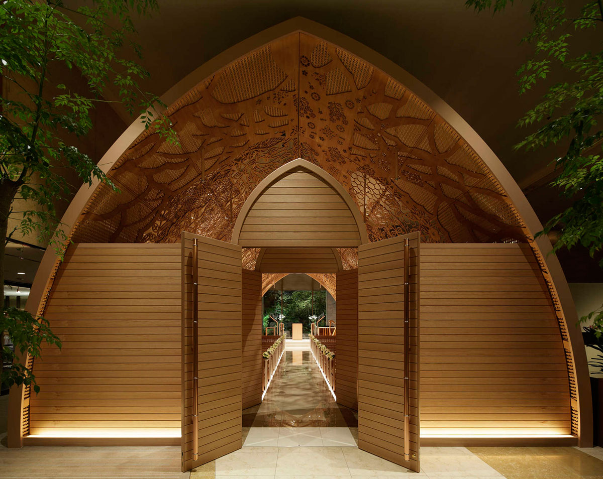 The Ana Crowne Plaza Hotel Chapel in Hiroshima