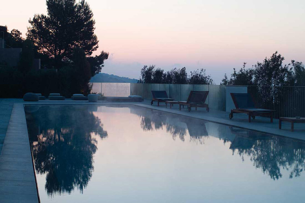 La Réserve Ramatuelle Hotel, Spa and Villas, is an amazing hideaway on top of private hill by the Mediterranean sea.