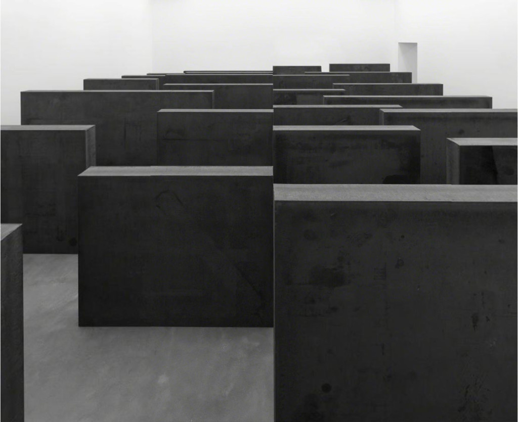 Richard Serra, Ramble 2014 at Gagosian Gallery London.