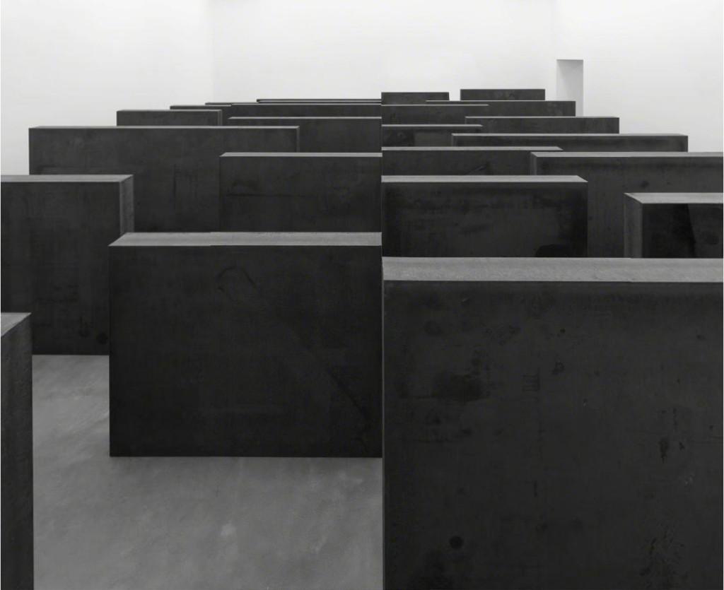 Richard Serra, Ramble 2014 at Gagosian Gallery London.