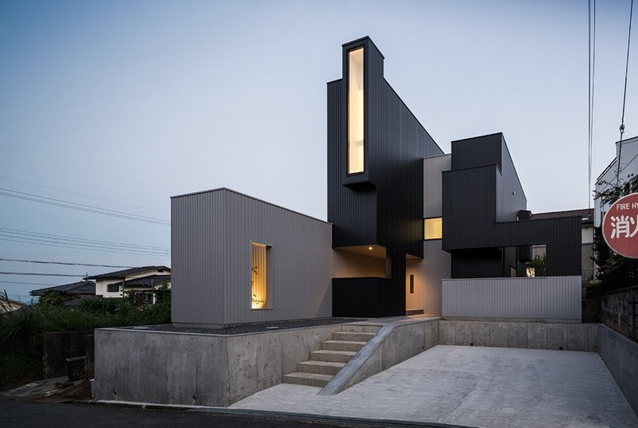 The Scape House, a modern family residence in Shiga, Japan. Designed by FORM/Kouichi Kimura Architects.