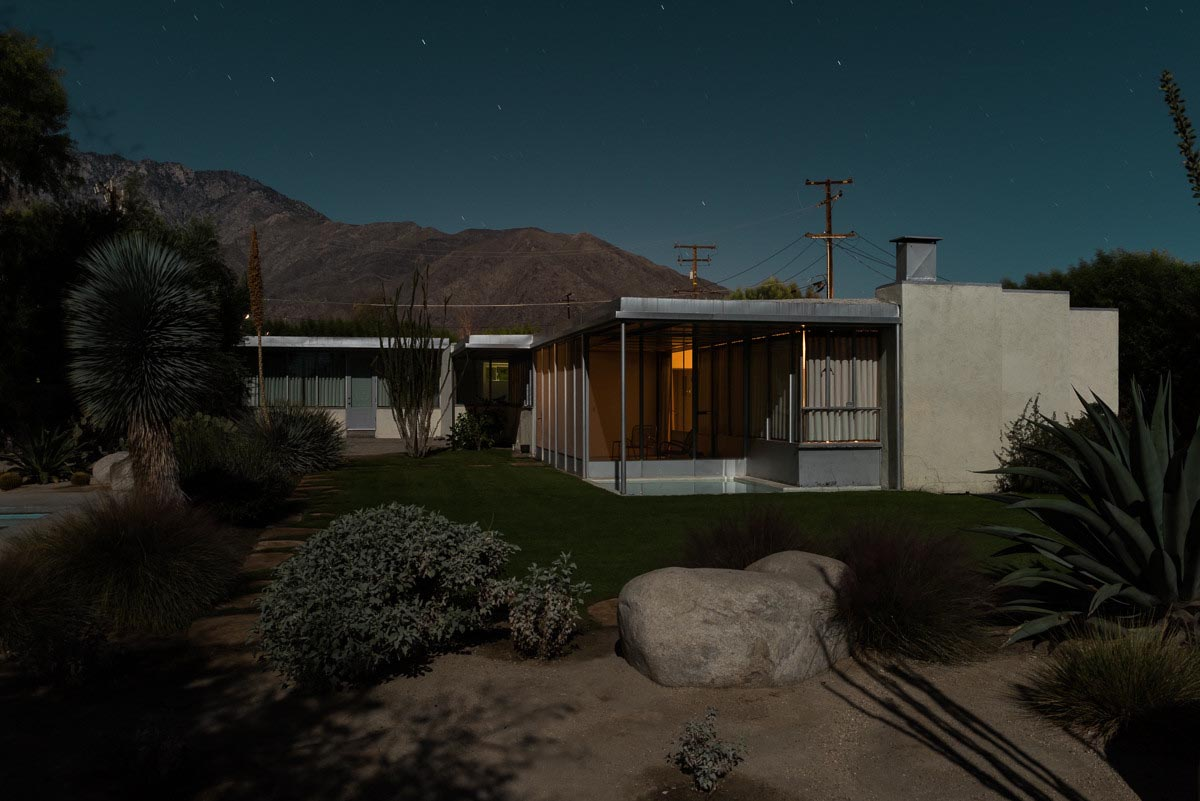 Tom Blachford midnight modern 2311North Indian Avenue