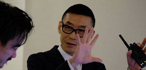 Spiral Ramp Library: A Performance by Wang Jianwei at the Guggenheim premierese this Thursday Feb 12. Photo: guggenheim.org