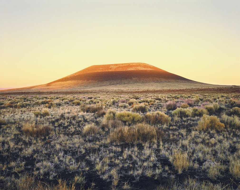 James Turrell´s Roden Crater in Arizona. Photo: Florian Holzherr