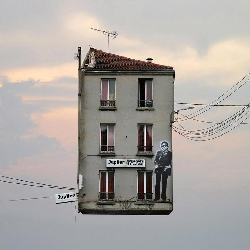 Laurent Chéhère, Gainsbourg from the Flying Houses series.