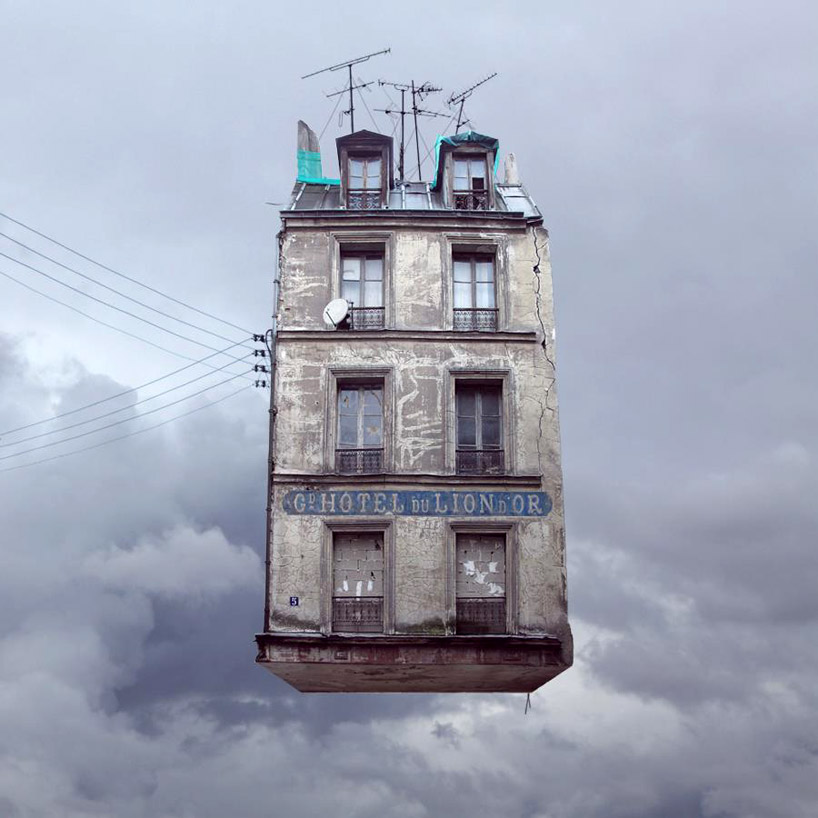 Laurent Chéhère, Hotel Du Lion D´Or/Hotel Of The Golden Lion from the Flying Houses series.