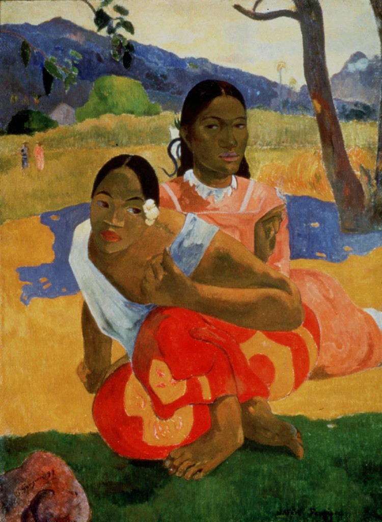 Paul Gauguin, Nafea Faa Ipoipo (When Will You Marry?). Photo Artothek/Associated Press via New York Times.