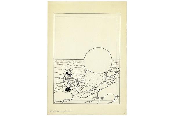 "Hergé's ""Tintin et L'etoile Mysterieuse"""
