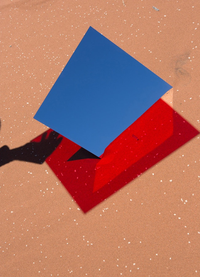 Viviane Sassen, from the Umbra series. Shot in the Namibian desert.