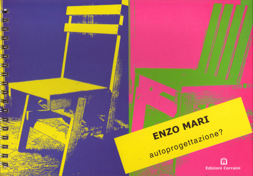 The 19 'do-it-yourself' furniture designs, which the Italian Designer Enzo Mari published in his book 'Autoprogettazione' in 1974, marks a milestone in the comtemporary design history
