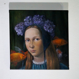 Julia Murakami, Allegory of Obliviousness, Projekt Spirits, Mystics, Muses. photo: artyesno for the art resort.