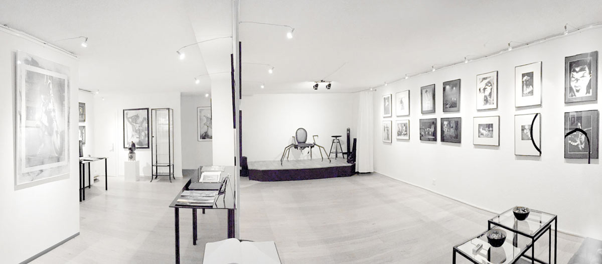 KH5 Gallery,  Zurich, panoramic view