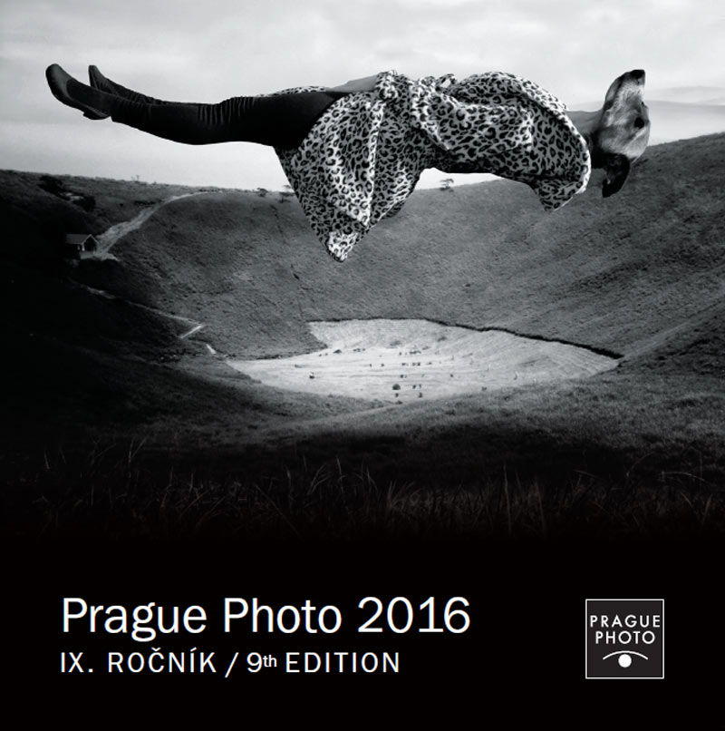 The 9th Edition of PRAGUE PHOTO FESTIVAL 2016 at Kafka's House Prague, April 19 – 24, 2016. Cover image by Julia Murakami.